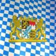 Oktoberfest: Bayrische Fahne