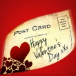 Valentines Day Postcard