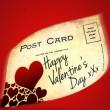 Valentintag Postkarte